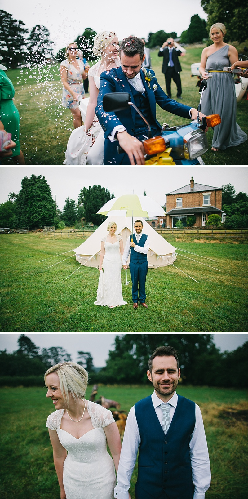 Rustic Tipi Wedding With Yellow Details In Shropshire, Bride In Sienna By Sassi Holford, Images By Chris Barber_0016