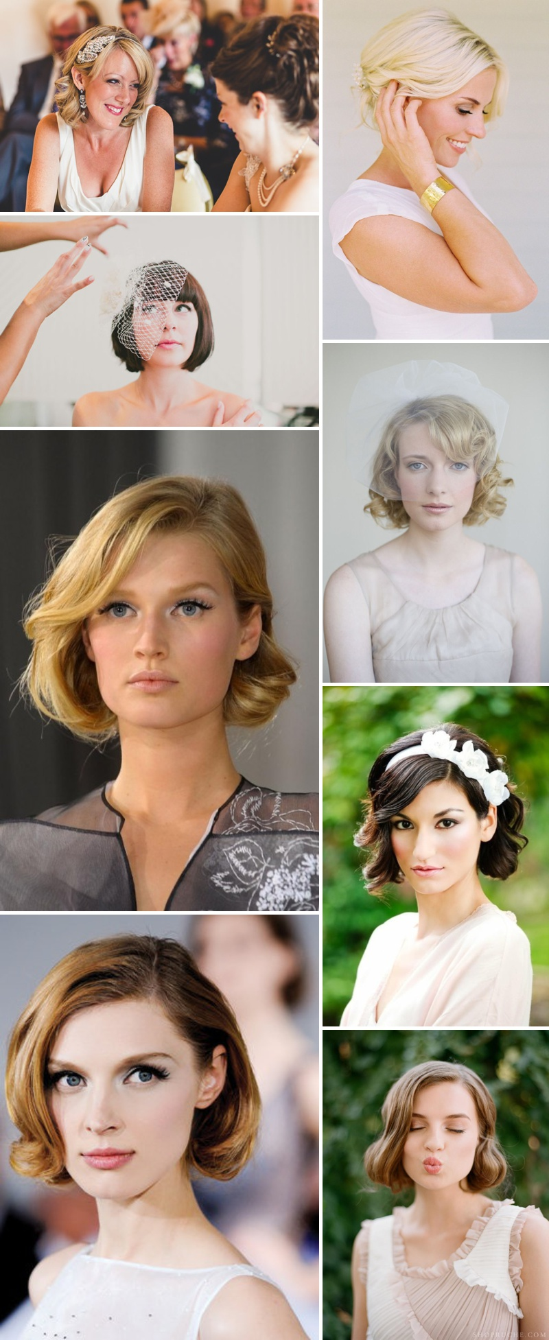 Short Chic Wedding Hair Inspiration_0043
