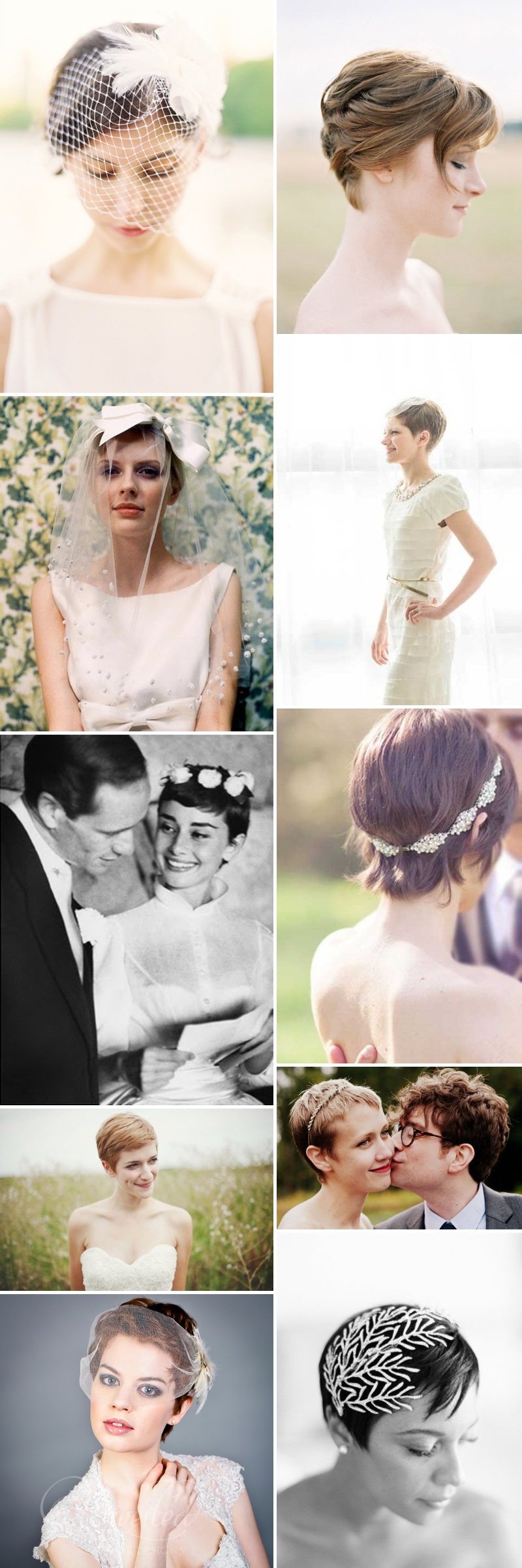Short Chic Wedding Hair Inspiration_0044