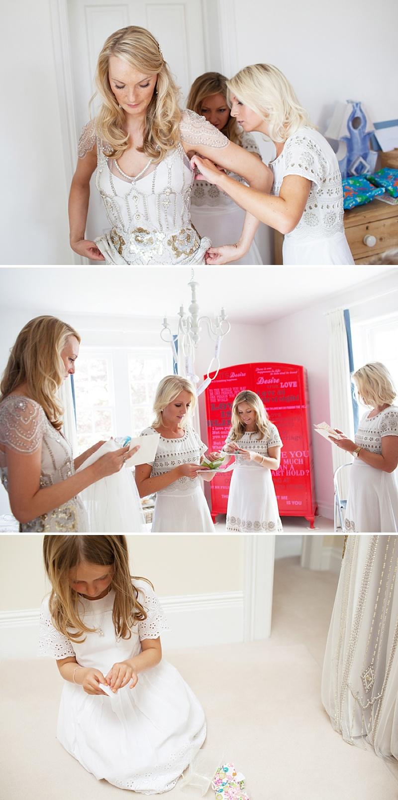 Summer Garden Party Wedding In Hertfordshire, Bride In Jenny Packham Eden Gown, Images by Annamarie Stepney_0003