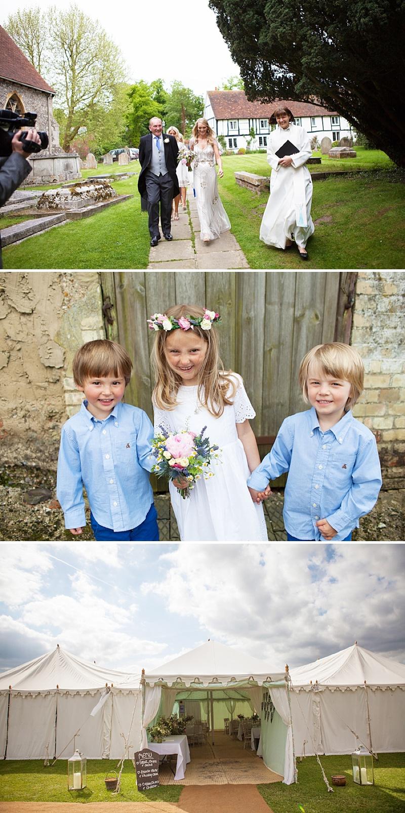 Summer Garden Party Wedding In Hertfordshire, Bride In Jenny Packham Eden Gown, Images by Annamarie Stepney_0007