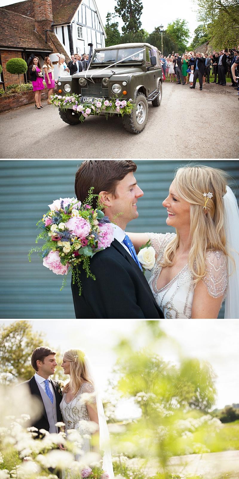 Summer Garden Party Wedding In Hertfordshire, Bride In Jenny Packham Eden Gown, Images by Annamarie Stepney_0010