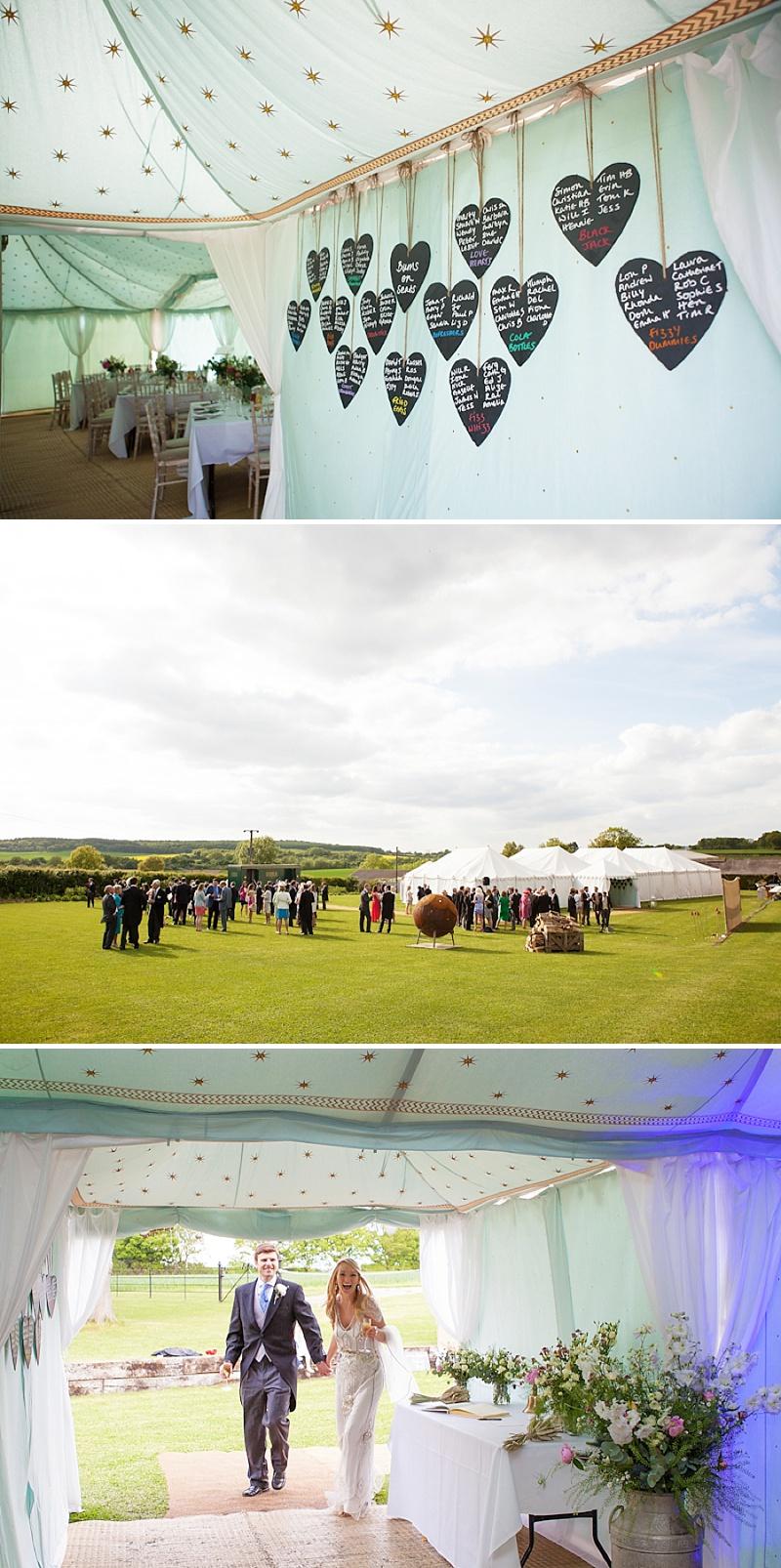 Summer Garden Party Wedding In Hertfordshire, Bride In Jenny Packham Eden Gown, Images by Annamarie Stepney_0012
