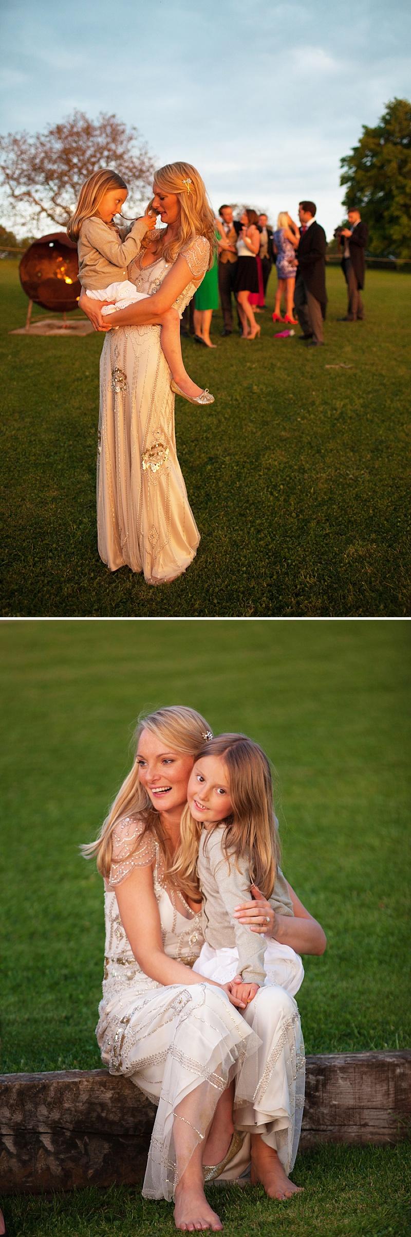 Summer Garden Party Wedding In Hertfordshire, Bride In Jenny Packham Eden Gown, Images by Annamarie Stepney_0016