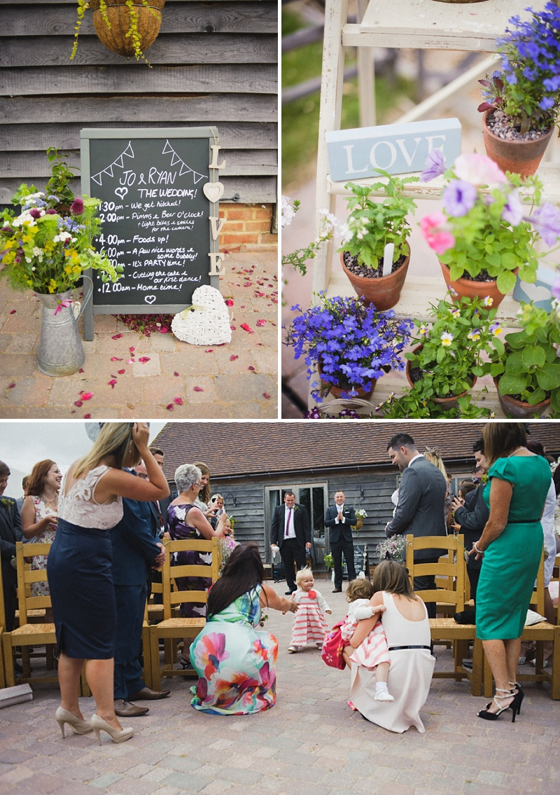 Vintage Inspired Barn Wedding At The Ferry House Inn Kent, Bride In Balta By Pronovias, Images By Hannah-May_0004