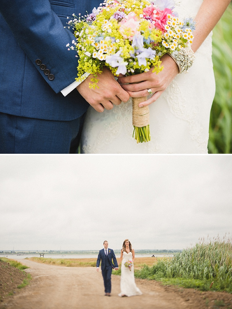 Vintage Inspired Barn Wedding At The Ferry House Inn Kent, Bride In Balta By Pronovias, Images By Hannah-May_0010