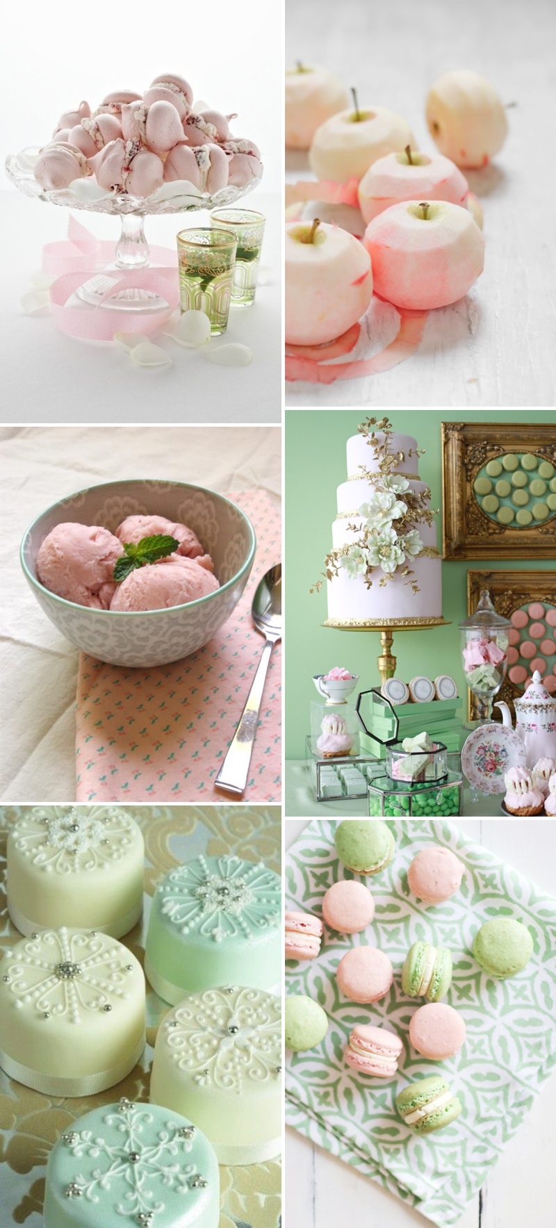 A Beautiful Inspiration Post Showing You How To Incorporate A Pink And Green Colour Scheme Into Your Wedding Day_0004