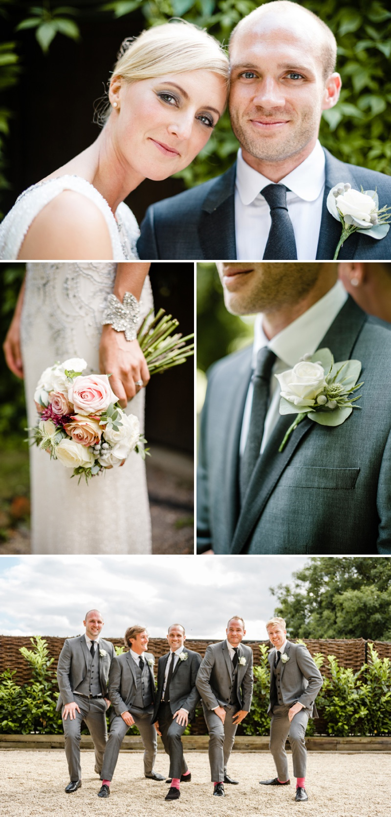 A Beautiful Music Inspired Wedding At The Crazy Bear In Stadhampton With A Jenny Packham Esme Wedding Dress and A Pink And Cream Avalanche Rose Bouquet._0007