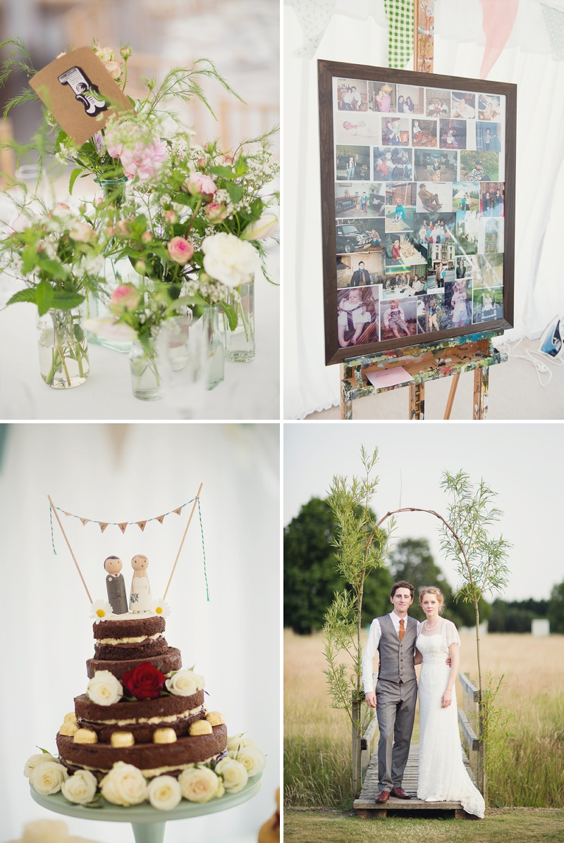 A Beautiful Vintage English Countryside Wedding At Narborough Hall Gardens In Norfolk With An Anoushka G Wedding Dress And An Oversized Pink Peony And Rose Bouquet._0013