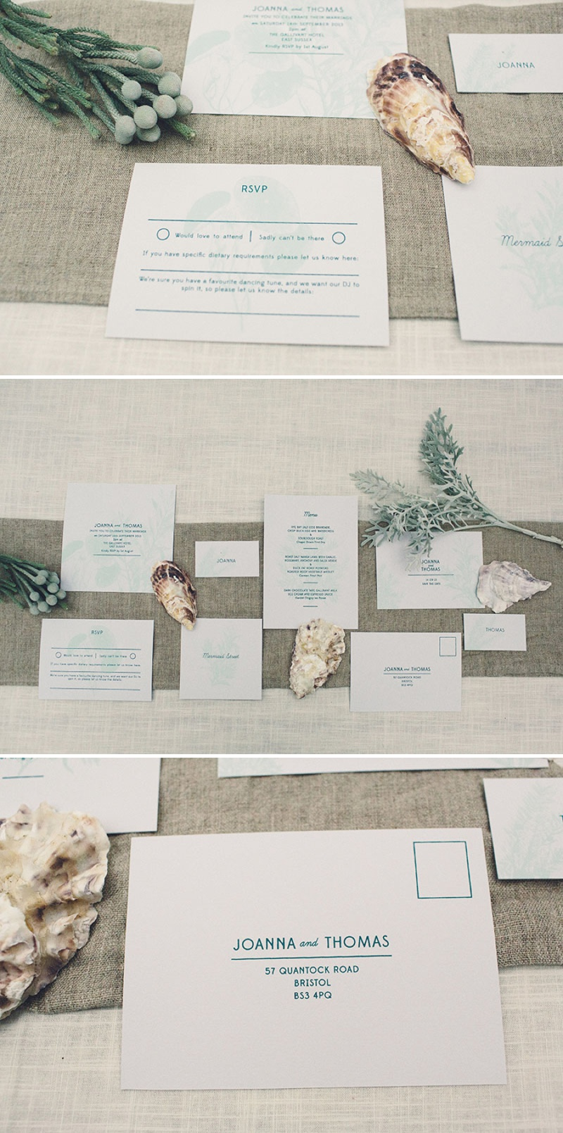 A Coastal Wedding Decor Inspiration Shoot From Rock My Wedding Featuring A Rustic Olive Leaf Table Centrepiece And A Luxury Sequinned Wedding Tablescape._0013