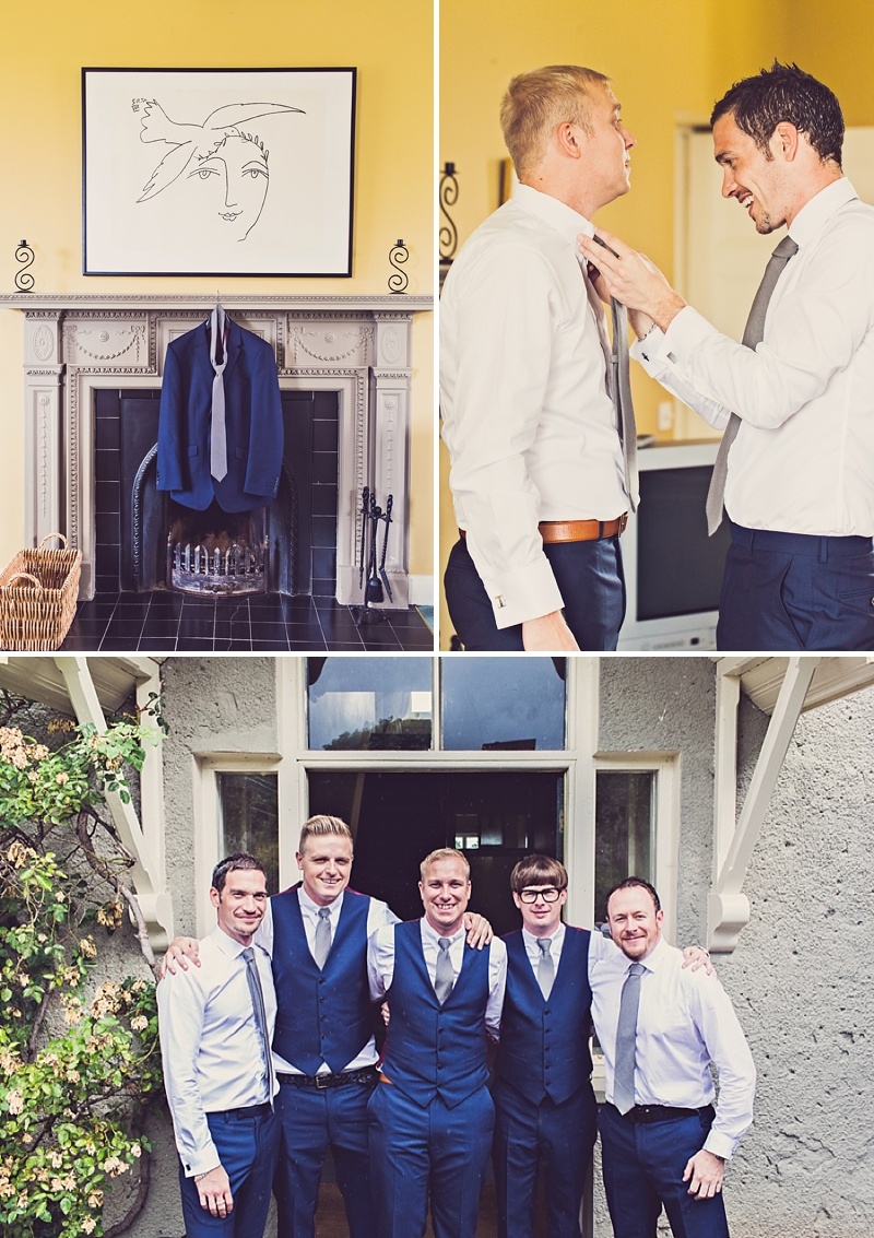 A Purple And Ivory Contemporary Wedding At Kilshane House In Tipperary Ireland With Bride In Aspen By Jenny Packham And Nude Christian Louboutin Peeptoes Images By Claire Penn_0004