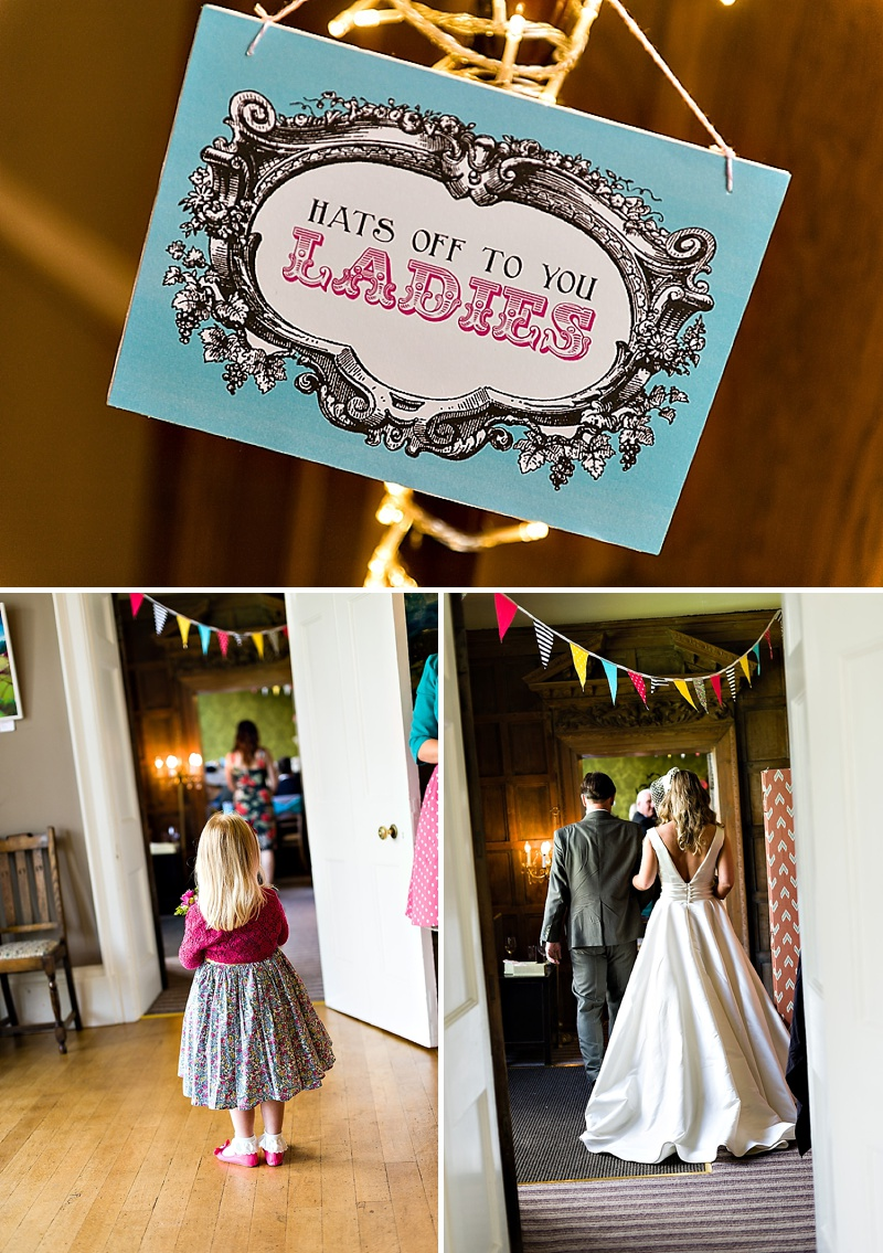 A Vintage Circus Themed Wedding With Brightly Coloured Balloons And Bunting, Gold Glittery Table Numbers, Smarties As Favours And A Carosel Cake Topper Bride In Kiki By Kurt Geiger With Images From Shoot Photography_0010