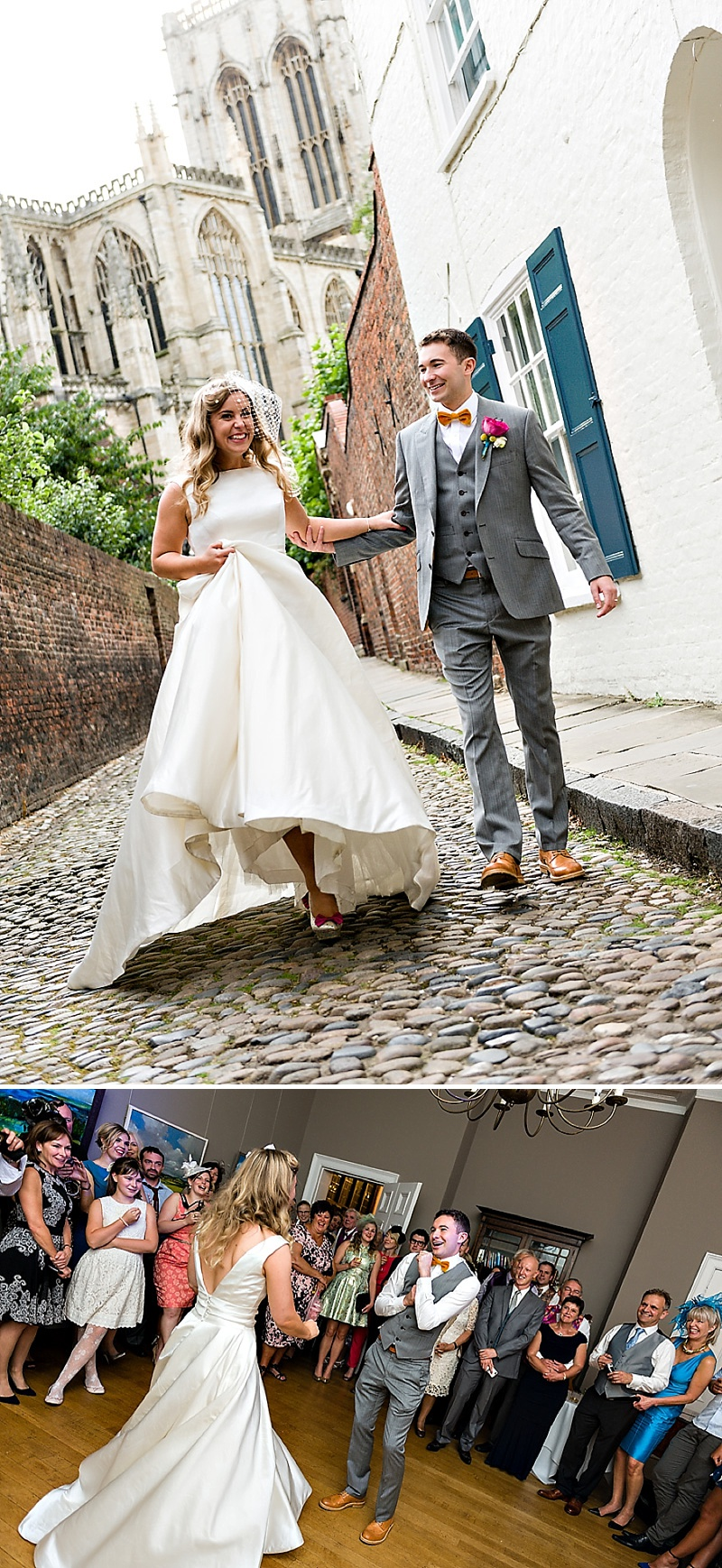 A Vintage Circus Themed Wedding With Brightly Coloured Balloons And Bunting, Gold Glittery Table Numbers, Smarties As Favours And A Carosel Cake Topper Bride In Kiki By Kurt Geiger With Images From Shoot Photography_0017