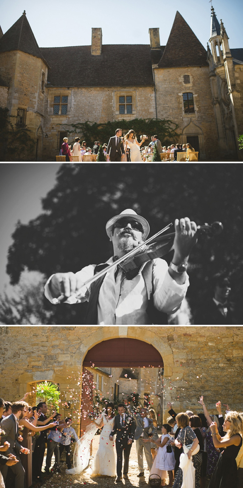 A beautiful elegant wedding at chateau de la bourlie in the Dordogne France with a Jim Hjelm Gown_0263