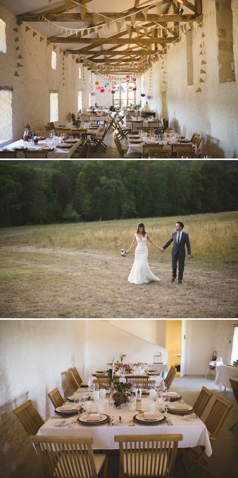A beautiful elegant wedding at chateau de la bourlie in the Dordogne France with a Jim Hjelm Gown_0266
