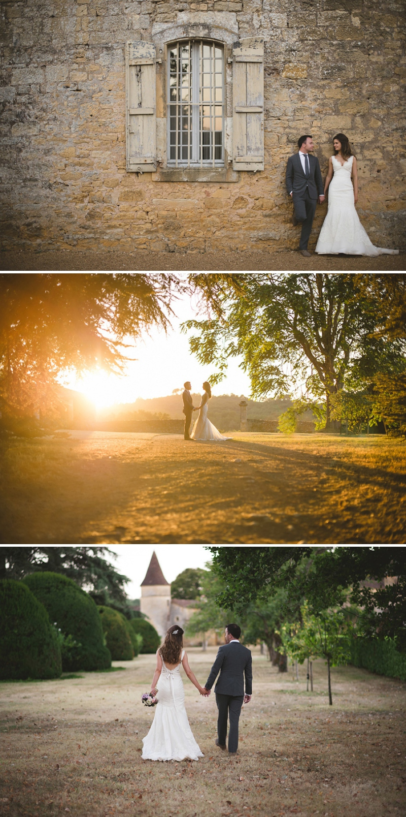A beautiful elegant wedding at chateau de la bourlie in the Dordogne France with a Jim Hjelm Gown_0269
