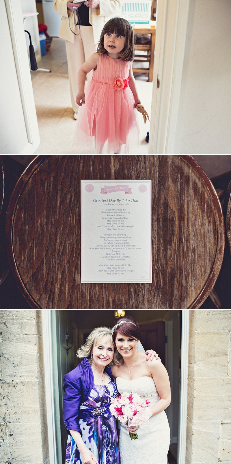 A pretty wedding at Cripps Barn by Anna Clarke photography with a lace pronovias dress_0301