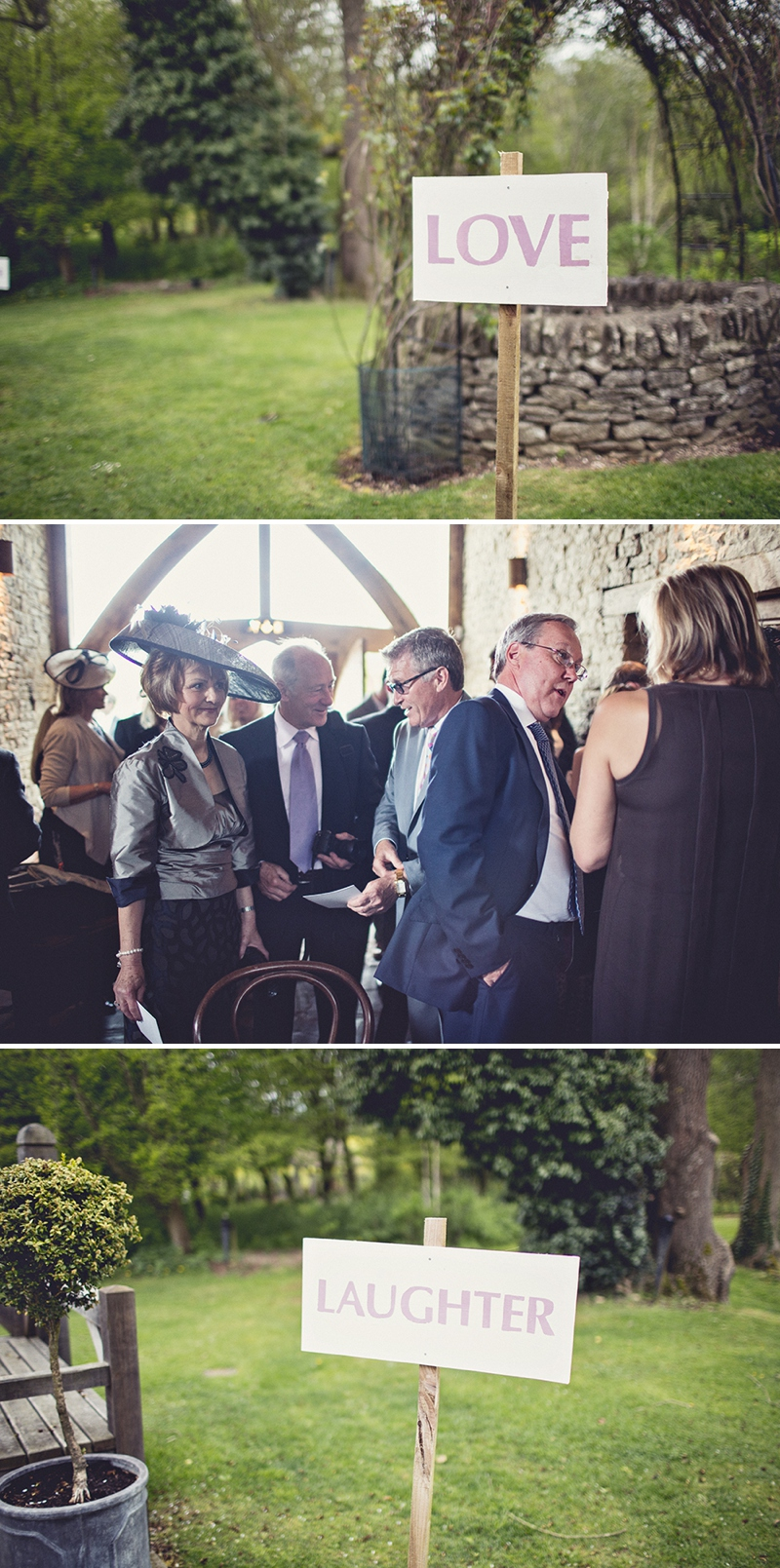 A pretty wedding at Cripps Barn by Anna Clarke photography with a lace pronovias dress_0303