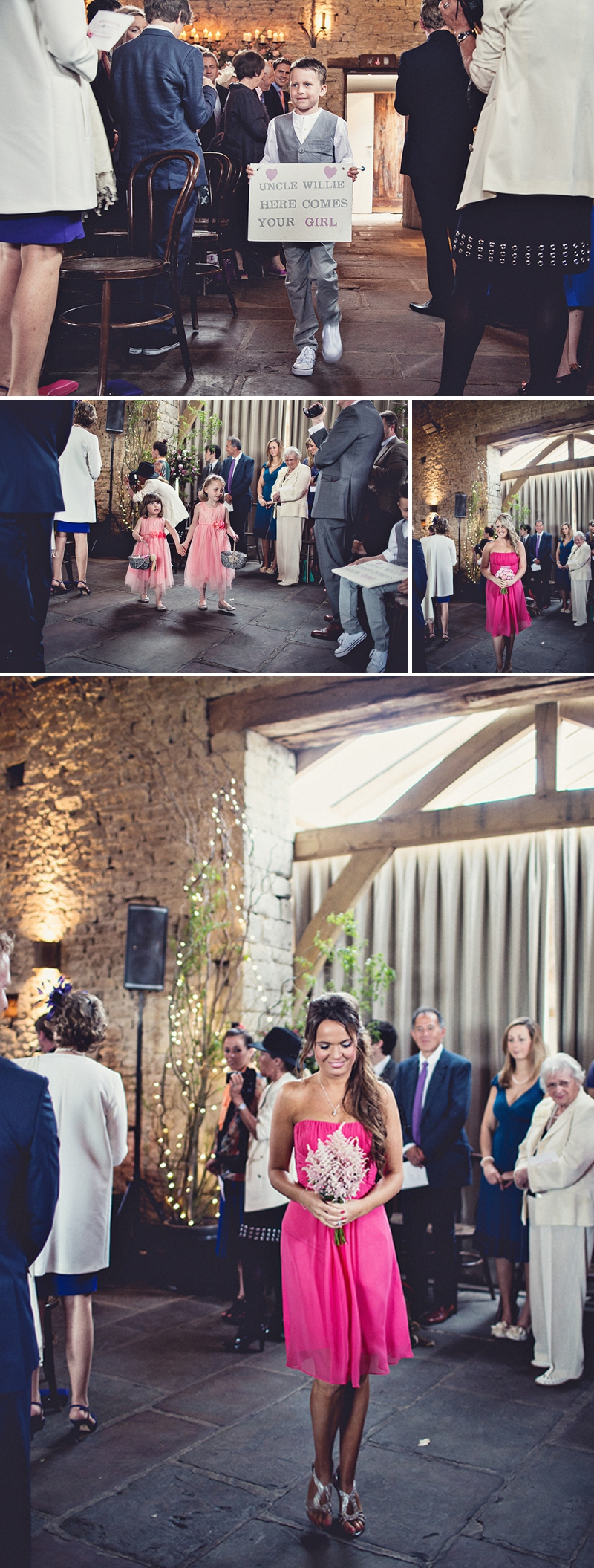 A pretty wedding at Cripps Barn by Anna Clarke photography with a lace pronovias dress_0307