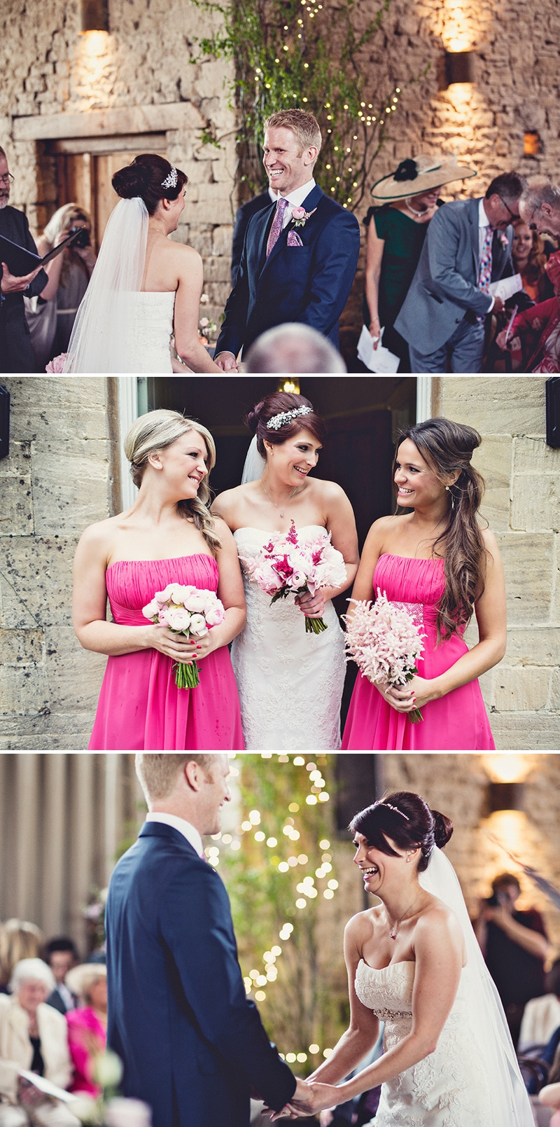 A pretty wedding at Cripps Barn by Anna Clarke photography with a lace pronovias dress_0309