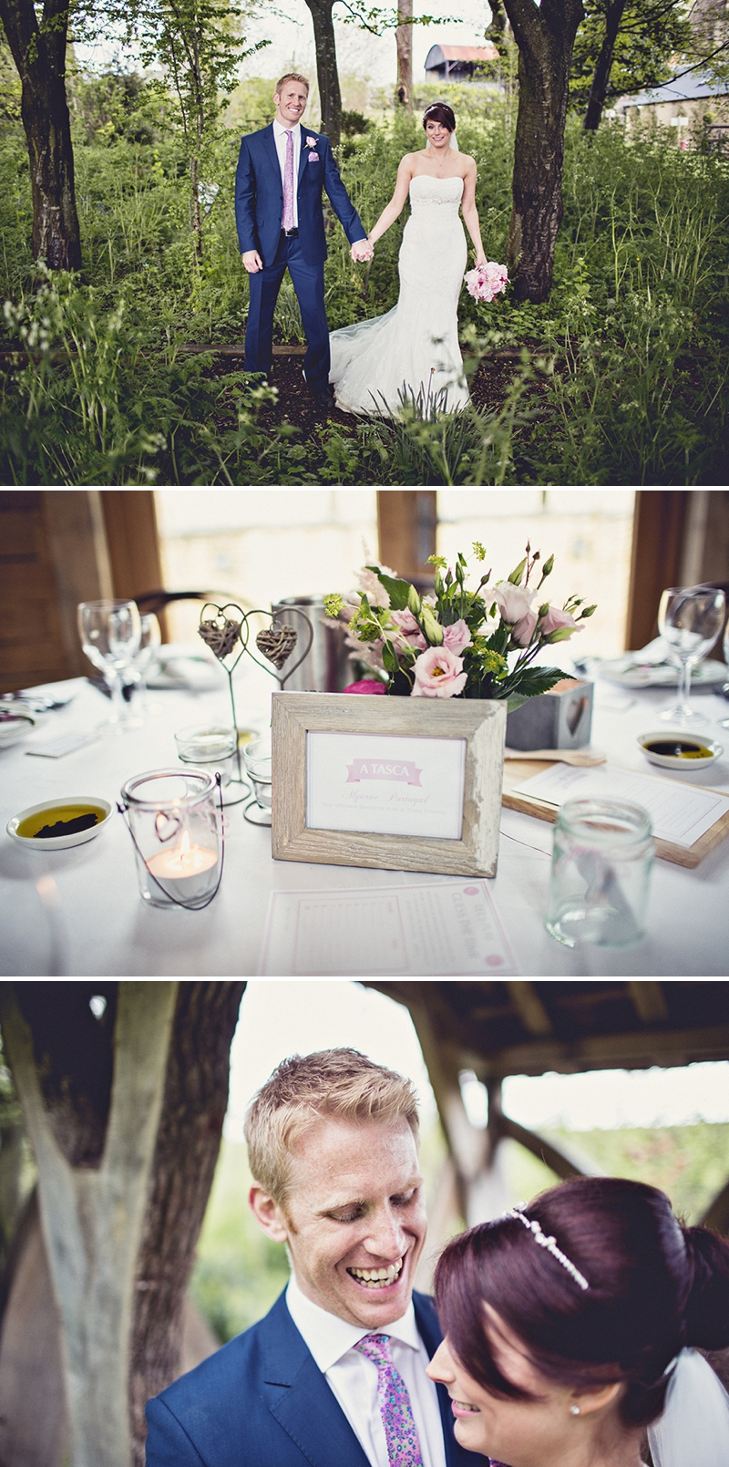 A pretty wedding at Cripps Barn by Anna Clarke photography with a lace pronovias dress_0312