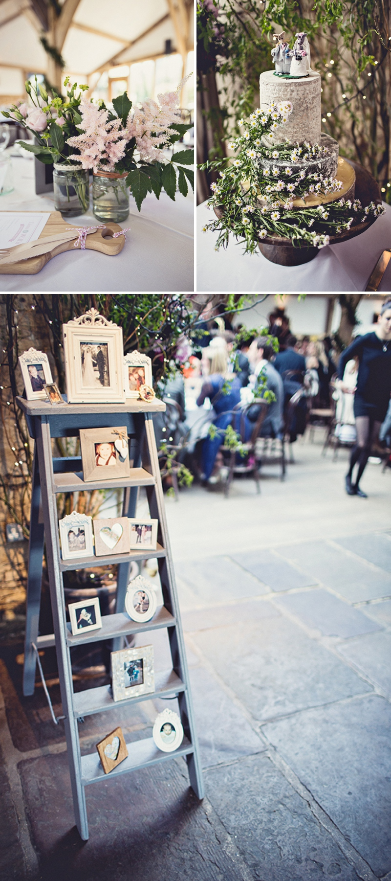 A pretty wedding at Cripps Barn by Anna Clarke photography with a lace pronovias dress_0315