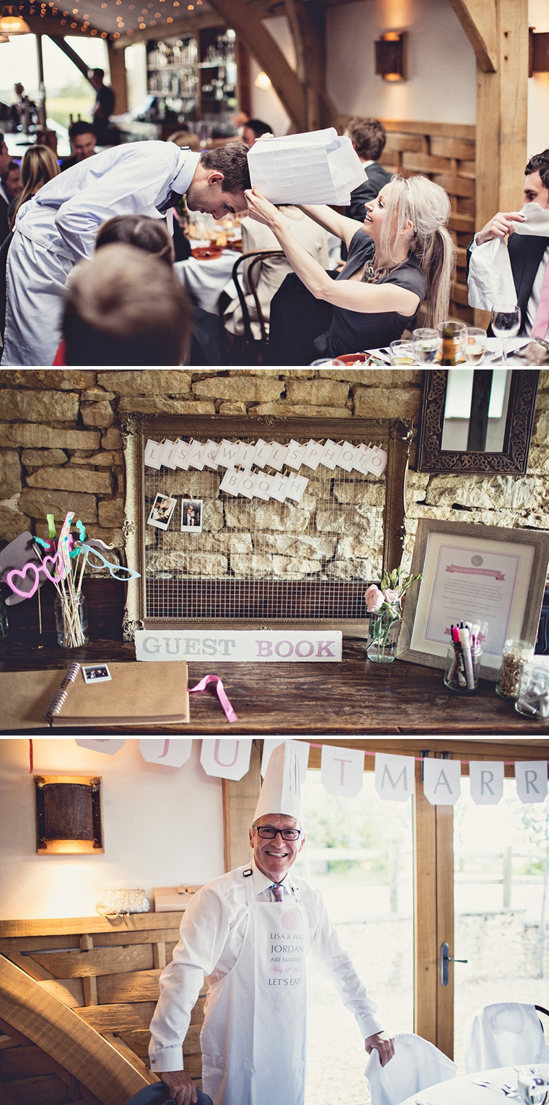 A pretty wedding at Cripps Barn by Anna Clarke photography with a lace pronovias dress_0316