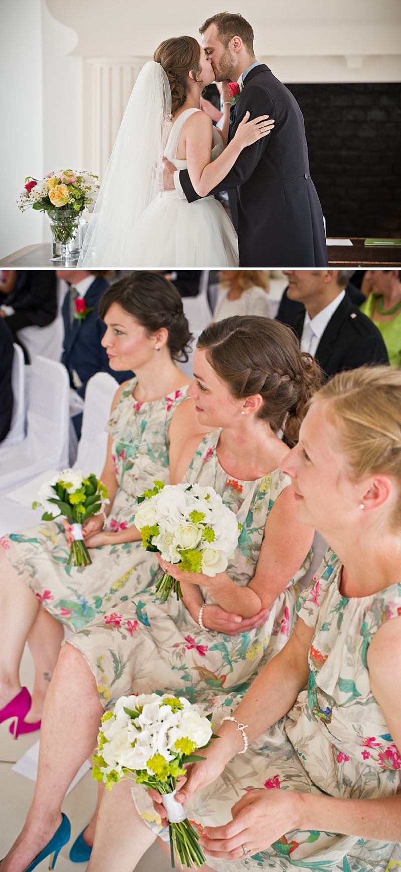 Ted baker bridesmaids dresses archives rock my wedding uk an elegant contemporary wedding at northbrook park farnham with bride in ellis bridal gown and blue ombrellifo Image collections