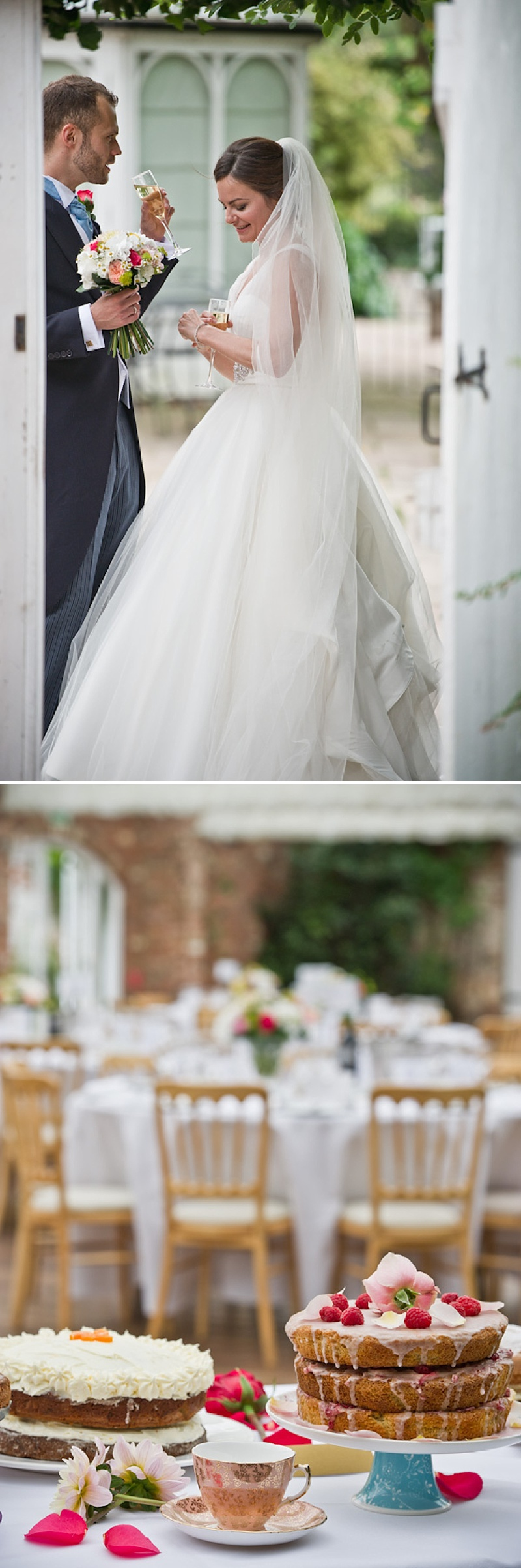 An Elegant Contemporary Wedding At Northbrook Park Farnham With Bride In Ellis Bridal Gown And Blue Benjamin Adams Shoes And Bridesmaids In Ted Baker Images By Especially Amy_0015