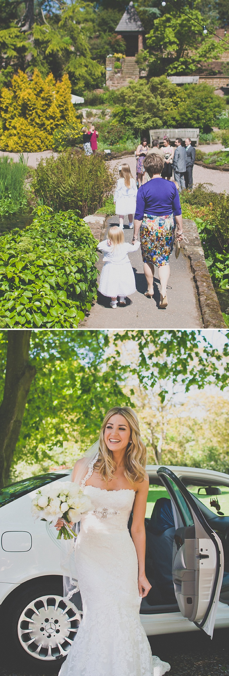 An Elegant White Themed Wedding At The Ness Botanic Gardens With Bride In Champagne From Blue By Enzoani With Aldo 'Corinne' Shoes Images By Rivington Photography_0018