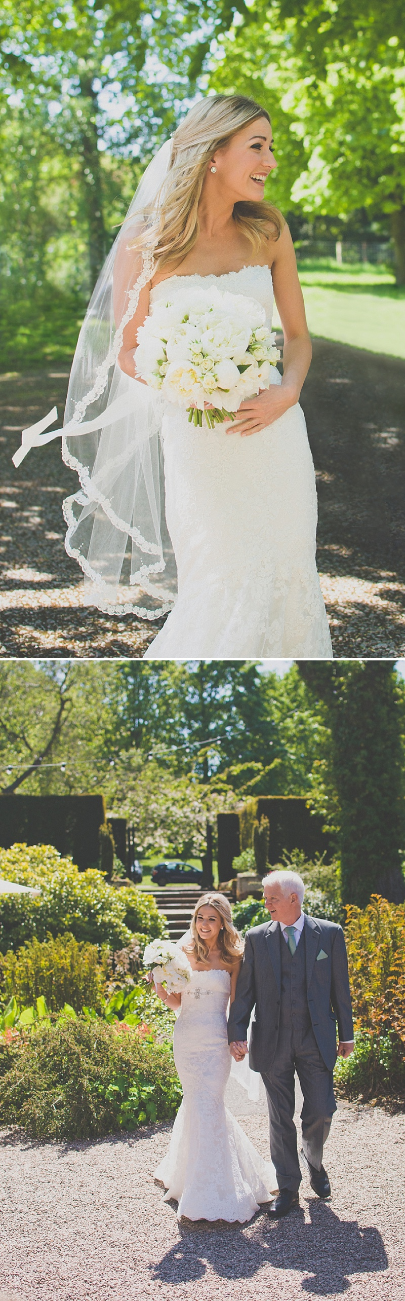 An Elegant White Themed Wedding At The Ness Botanic Gardens With Bride In Champagne From Blue By Enzoani With Aldo 'Corinne' Shoes Images By Rivington Photography_0020
