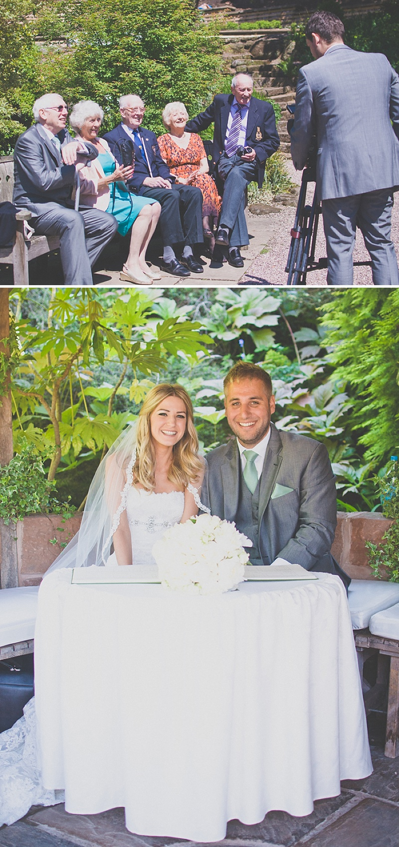 An Elegant White Themed Wedding At The Ness Botanic Gardens With Bride In Champagne From Blue By Enzoani With Aldo 'Corinne' Shoes Images By Rivington Photography_0023
