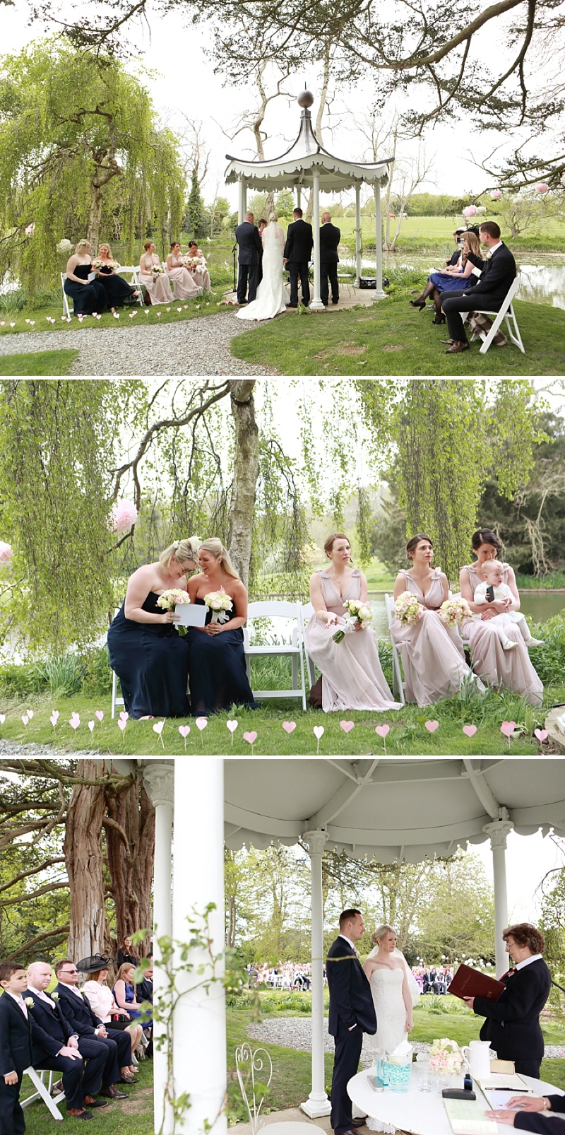 An Outdoor english Wedding At Preston Court In Canterbury With Pronovias Dress_0009