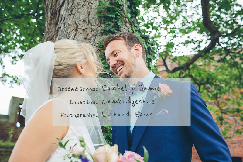 Colourful-Rustic-Wedding-At-The-Rickety-Barn-Cambridgeshire-Bride-In-Benjamin-Roberts-Gown-Groom-In-Navy-Cad-And-The-Dandy-Suit-Images-By-Richard-Skins-cover-01