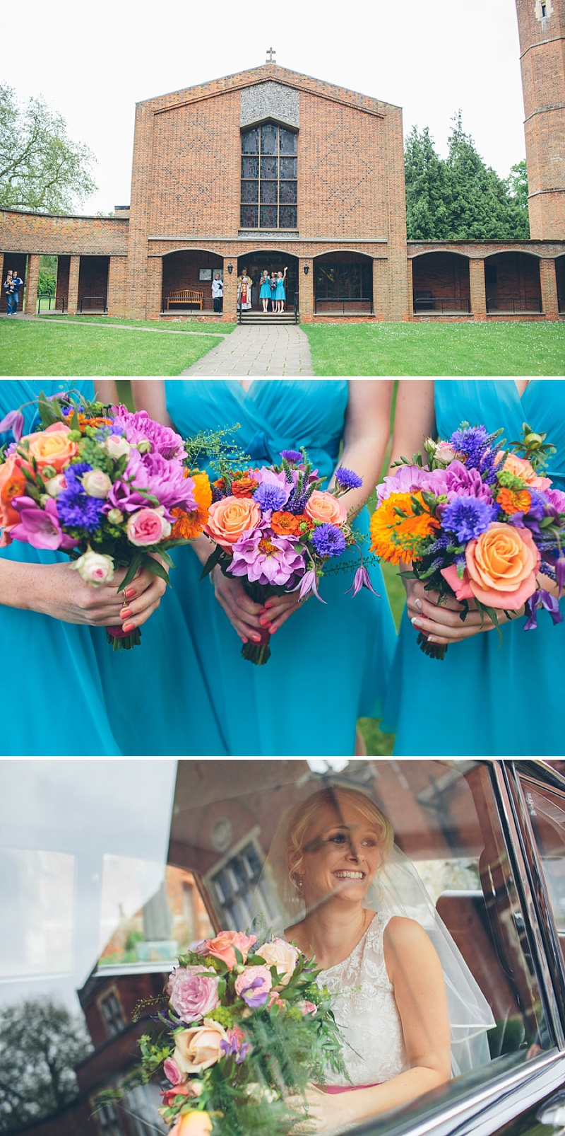 Colourful Rustic Wedding At The Rickety Barn Cambridgeshire Bride In Benjamin Roberts Gown Groom In Navy Cad And The Dandy Suit Images By Richard Skins023