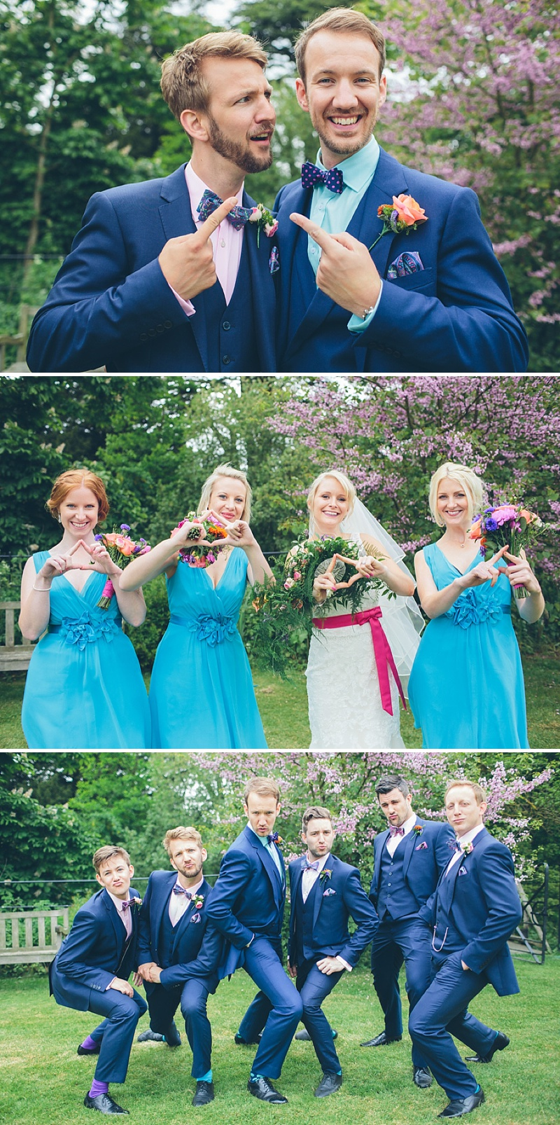 Colourful Rustic Wedding At The Rickety Barn Cambridgeshire Bride In Benjamin Roberts Gown Groom In Navy Cad And The Dandy Suit Images By Richard Skins027
