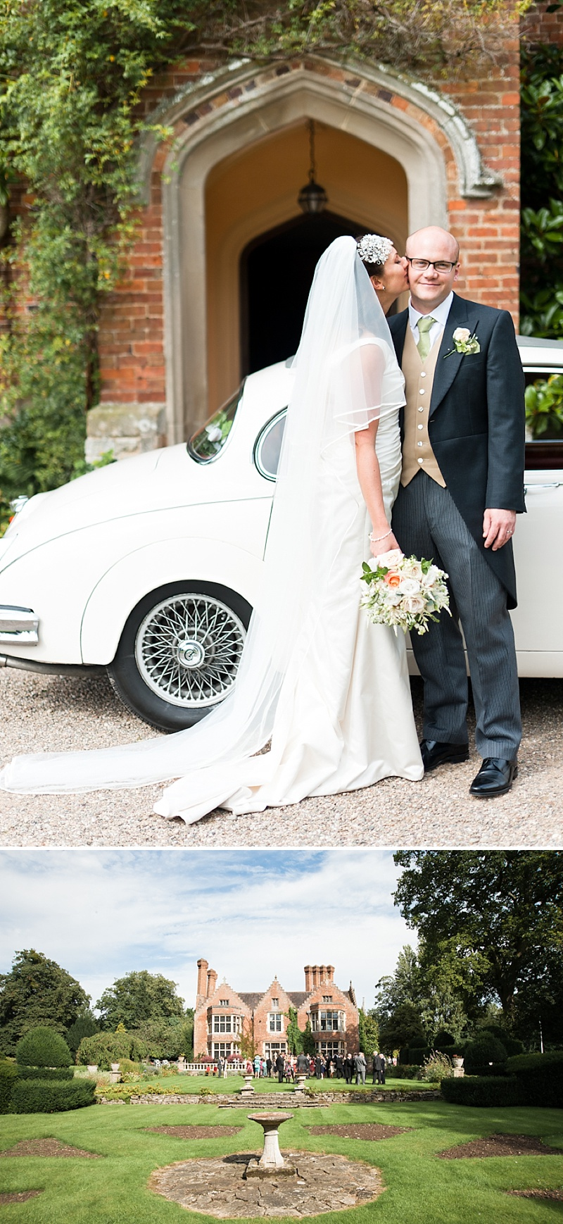 Elegant Wedding In Worcestershire With Vintage Touches Bride In Caroline Castigliano Gown with Rachel Simpson Shoes and a Hermione Harbutt Headpiece, Images by Anushe Low_0006