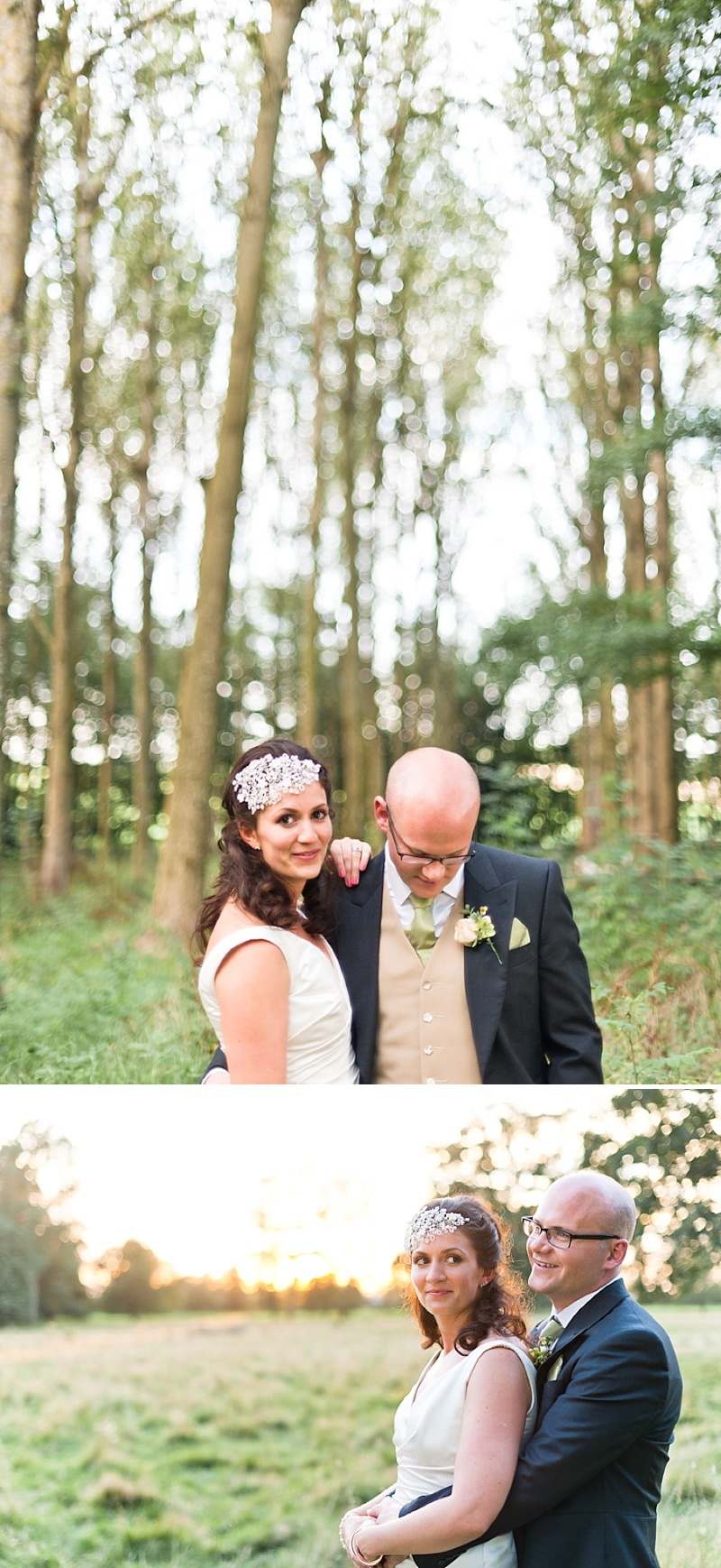 Elegant Wedding In Worcestershire With Vintage Touches Bride In Caroline Castigliano Gown with Rachel Simpson Shoes and a Hermione Harbutt Headpiece, Images by Anushe Low_0012