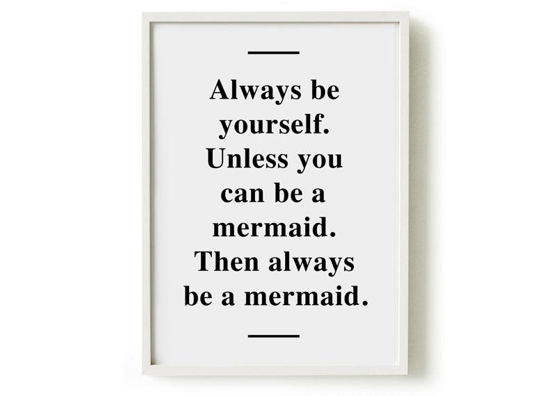 mermaid-print on etsy
