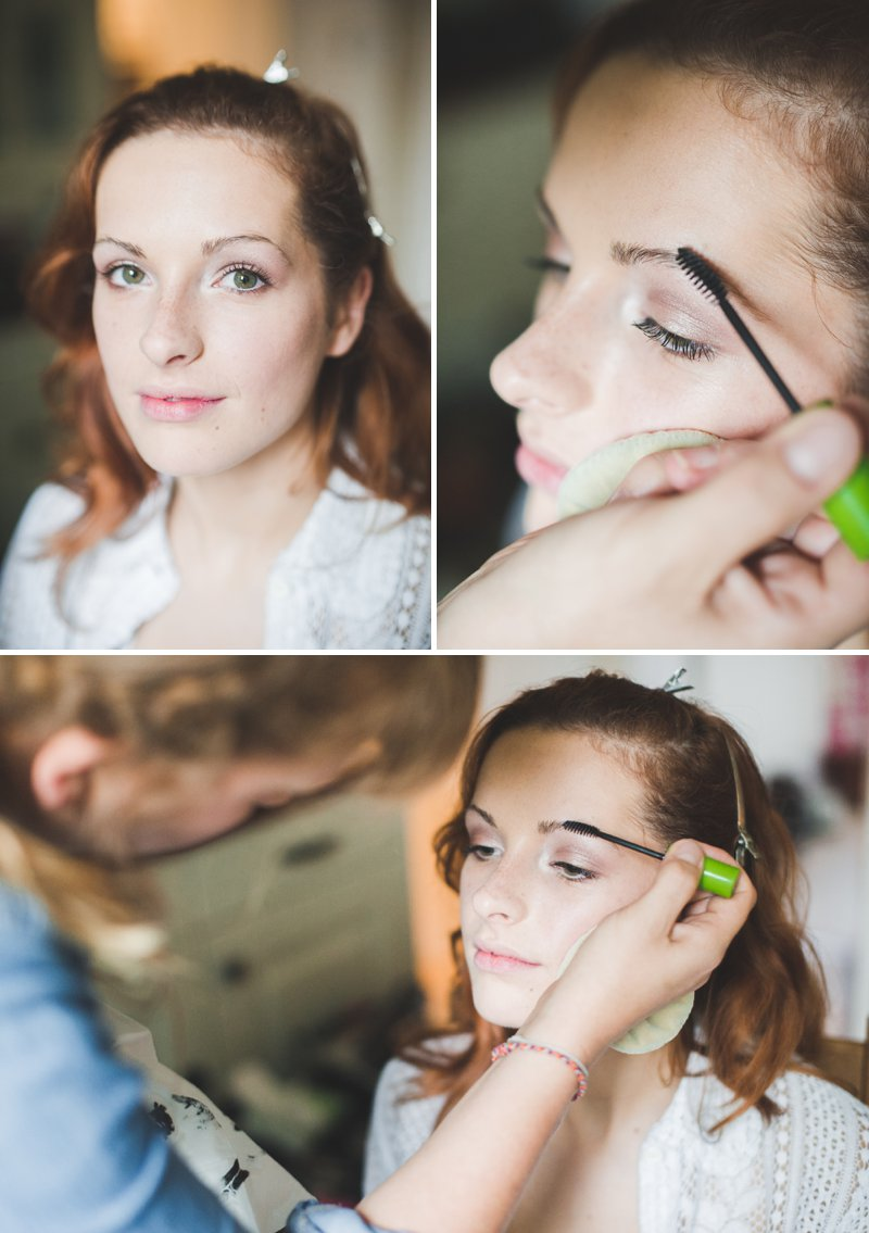 A Bridal Beauty Tutorial Showing Brides How To Create The Perfect Berry Lip and Metallic Eye For Their Wedding Day._0013
