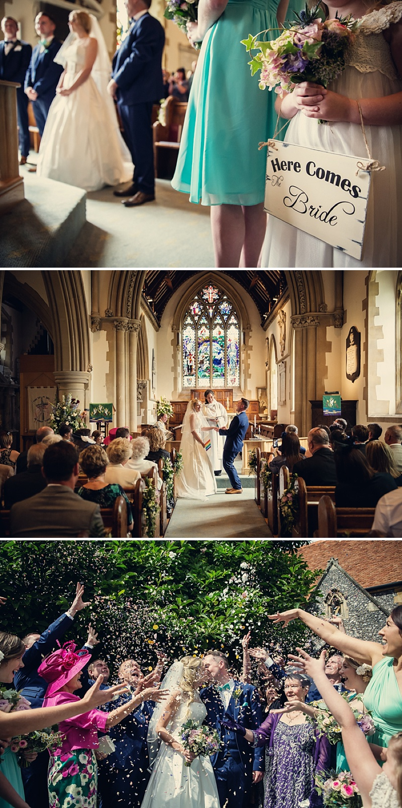 A Rustic Farm Wedding In Berkshire With Bride In Kelly By Stephanie Allin And Bridemaids In Mint Green With A Chocolate Wedding Cake From M&S Images From Assassynation_0005