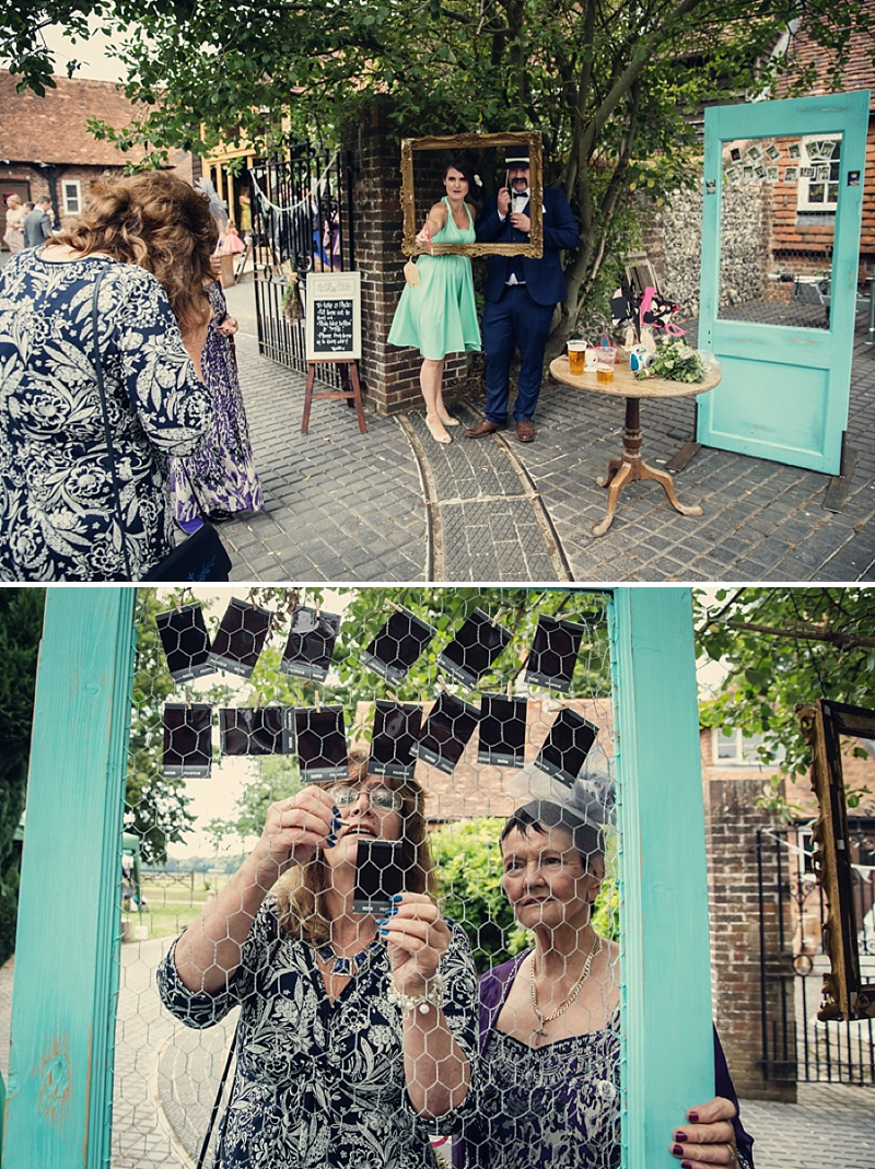 A Rustic Farm Wedding In Berkshire With Bride In Kelly By Stephanie Allin And Bridemaids In Mint Green With A Chocolate Wedding Cake From M&S Images From Assassynation_0008