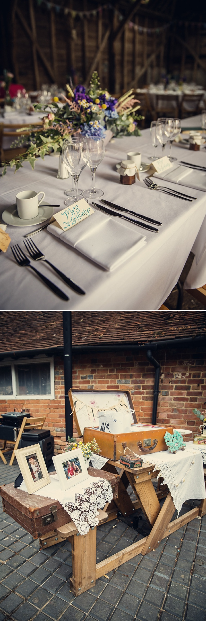 A Rustic Farm Wedding In Berkshire With Bride In Kelly By Stephanie Allin And Bridemaids In Mint Green With A Chocolate Wedding Cake From M&S Images From Assassynation_0012