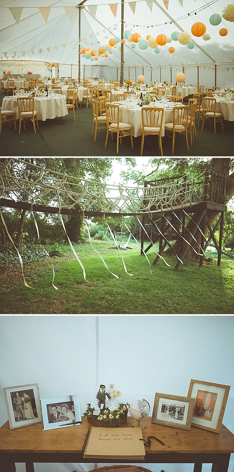 A Secret Garden Party Style Wedding In Peterborough With A