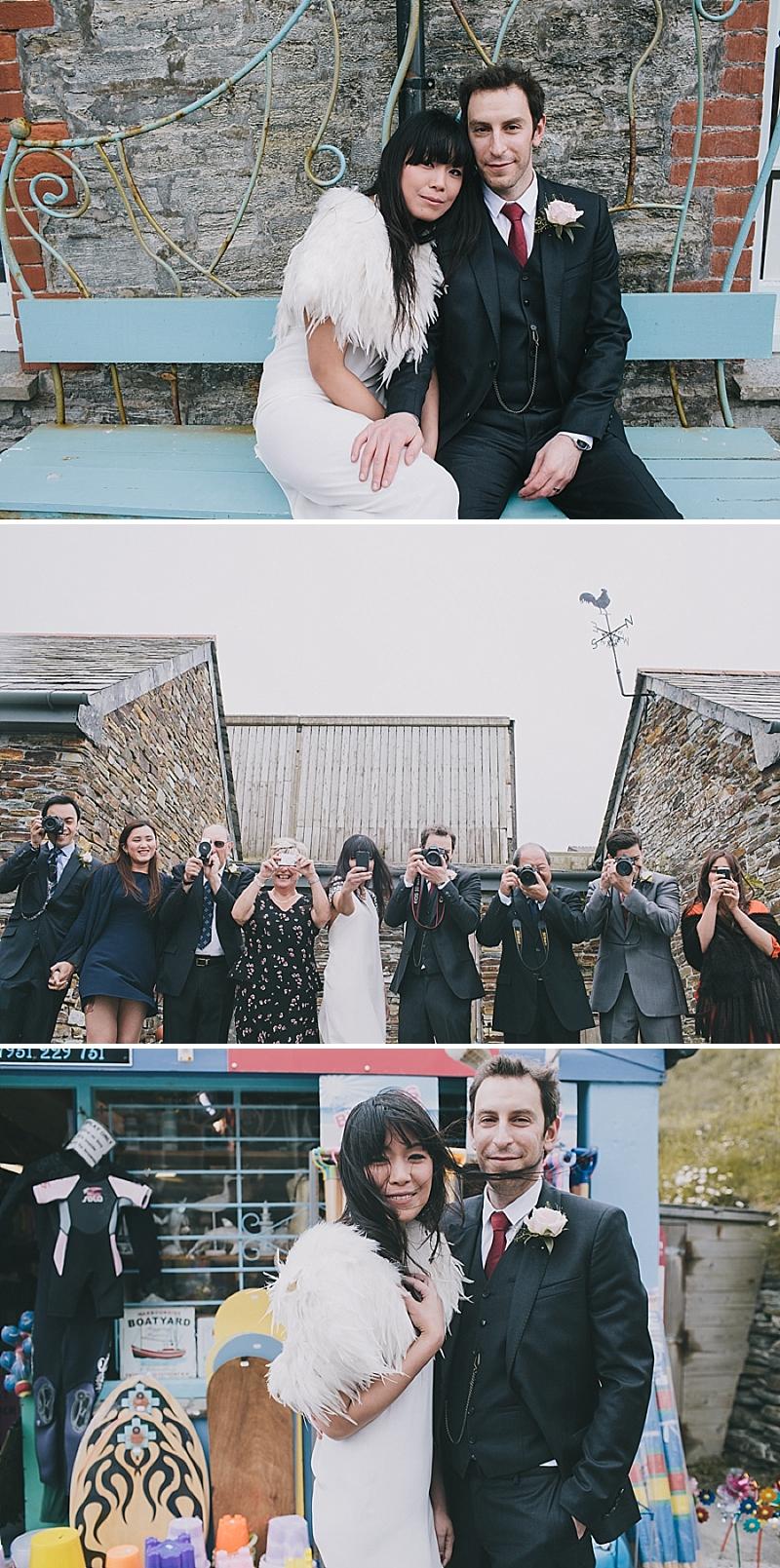 A stylish cornwall sornish wedding with a designer wedding dress by 3.1 Philip Lim_0430