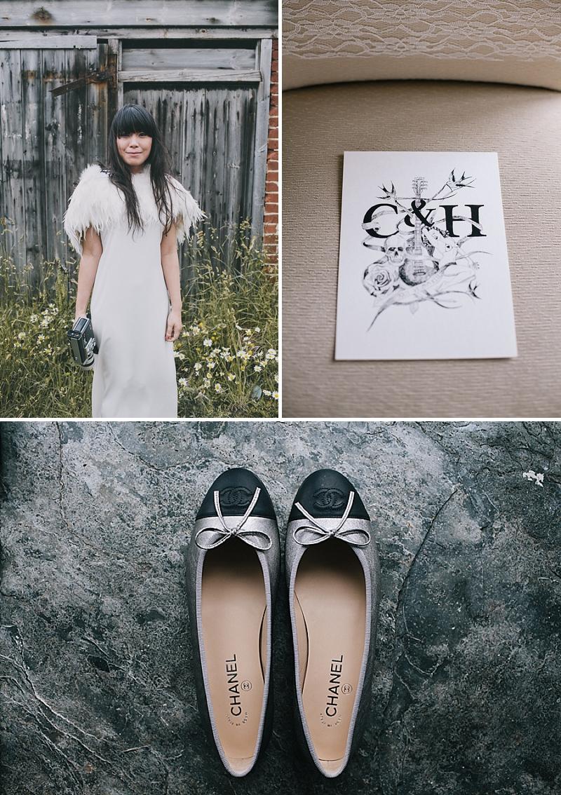 A stylish cornwall sornish wedding with a designer wedding dress by 3.1 Philip Lim_0437
