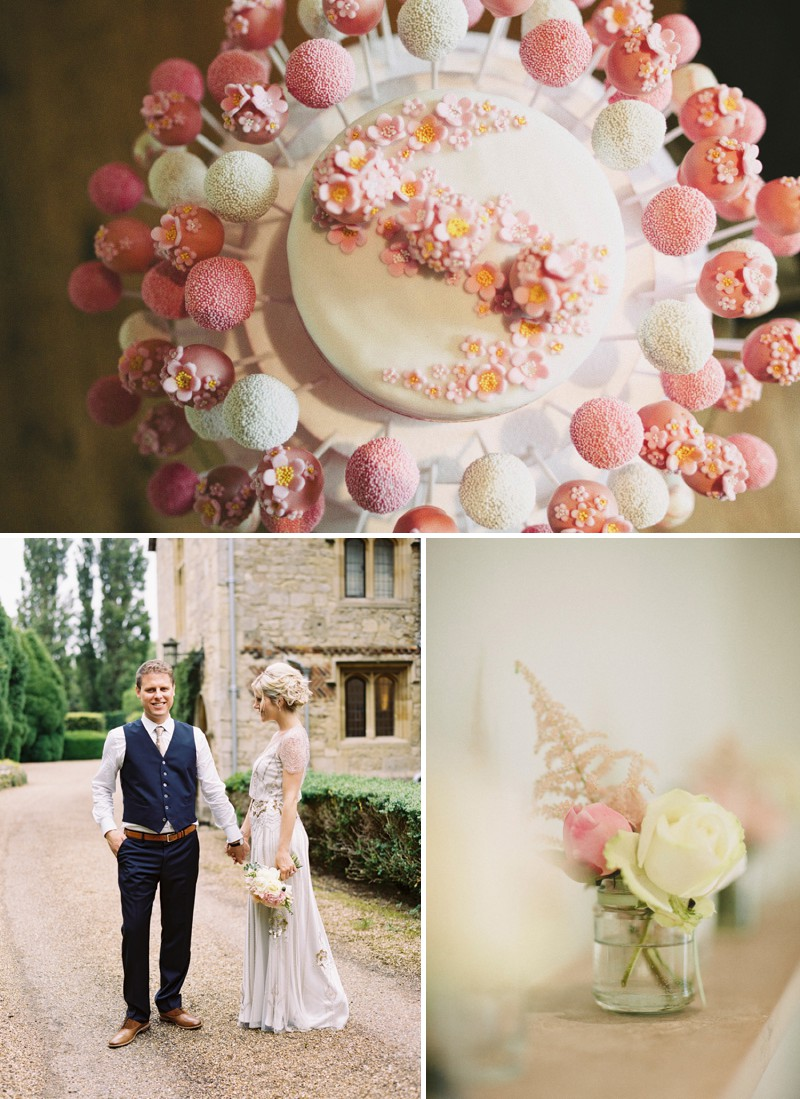 An English Country Garden And Art Deco Themed Wedding With A Jenny Packham Eden Dress At Notley Abbey And A Peony Bouquet._13