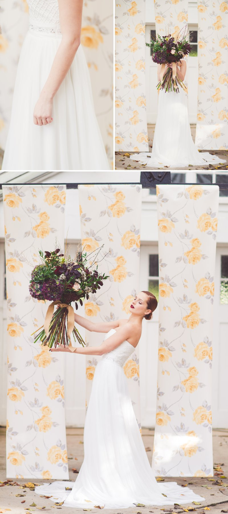Autumn Fall Inspired Wedding Decor and Fashion Editorial by Rock My Wedding With Florals By Mrs Umbels, Make-up By Claire Salter Photographed By Rebekah J Murray._0004