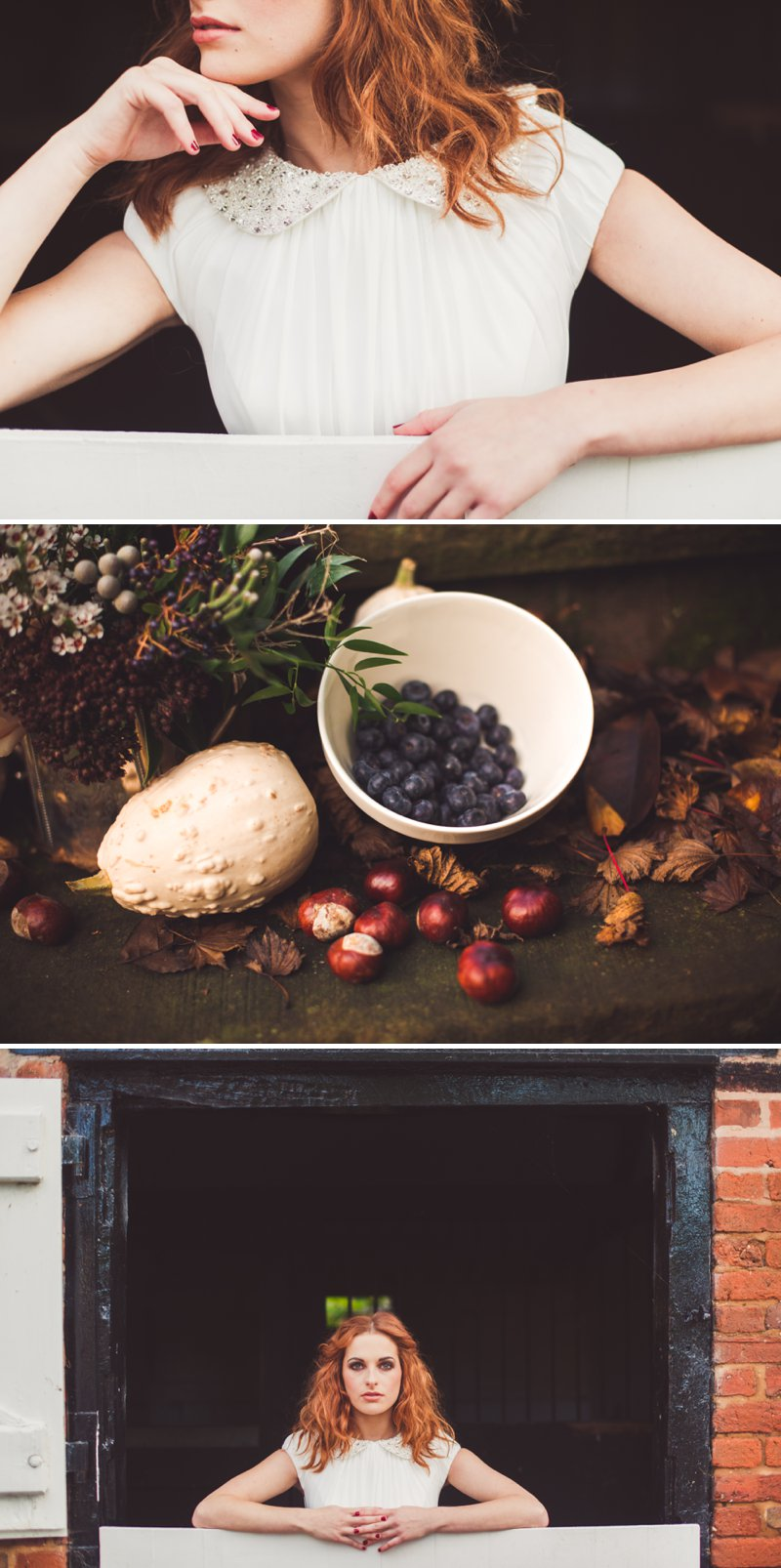 Autumn Fall Inspired Wedding Decor and Fashion Editorial by Rock My Wedding With Florals By Mrs Umbels, Make-up By Claire Salter Photographed By Rebekah J Murray._0012
