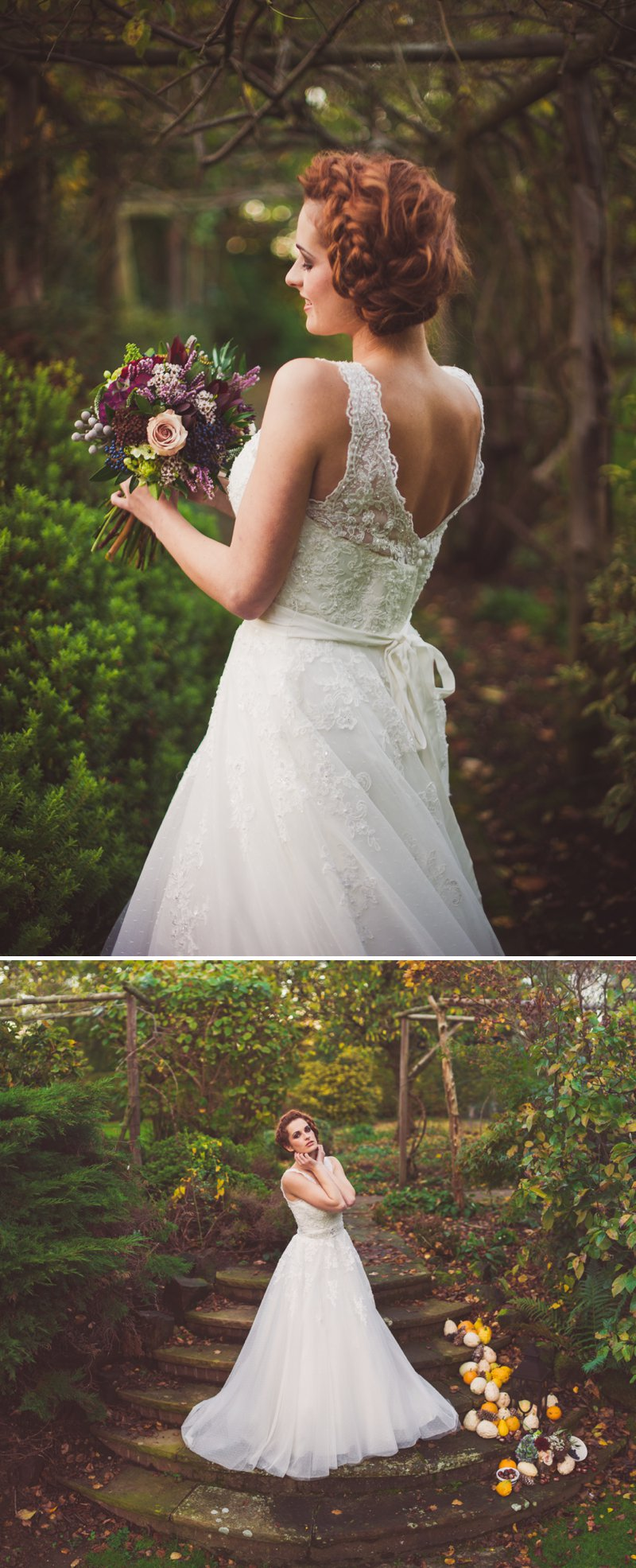 Autumn Fall Inspired Wedding Decor and Fashion Editorial by Rock My Wedding With Florals By Mrs Umbels, Make-up By Claire Salter Photographed By Rebekah J Murray._0014